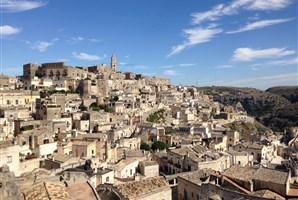 Matera - skalní město - UNESCO