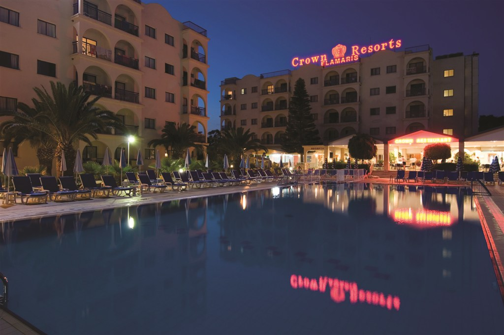 Severní Kypr - Crown Resort Elamaris Hotel Apartments Cat A´